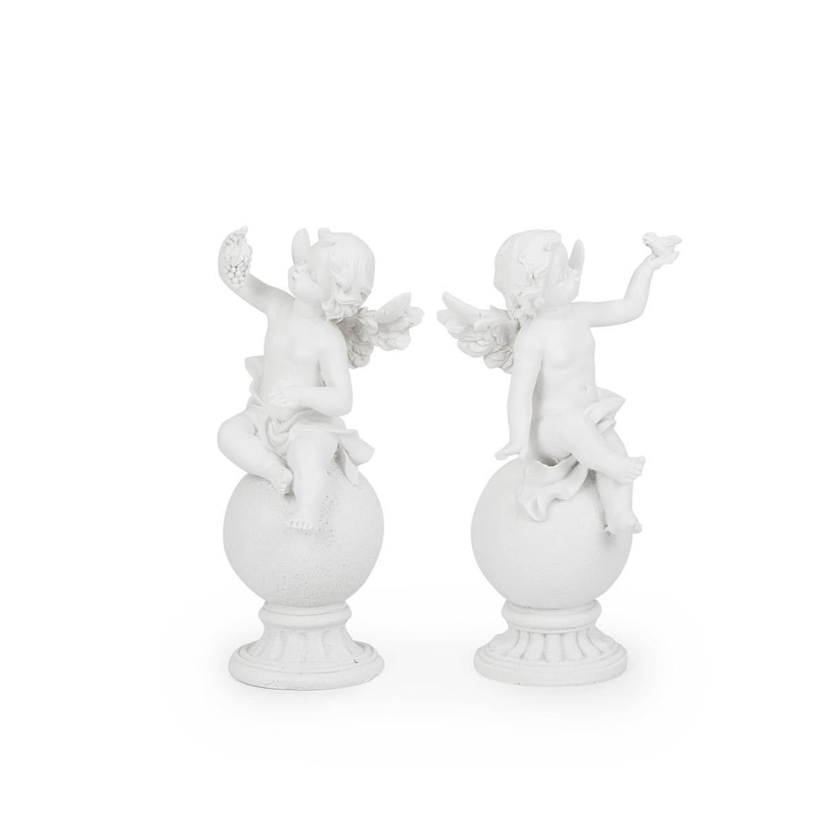 Figurka Para Aniołków Na Kuli